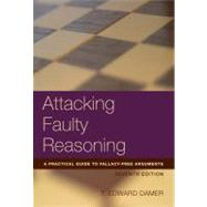 Attacking Faulty Reasoning by Damer, T. Edward, 9781133049982