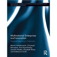 Multinational Enterprises and Innovation: Regional Learning in Networks by Heidenreich; Martin, 9781138959989