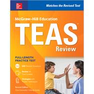 McGraw-Hill Education TEAS Review, Second Edition by Cantarella, Cara; Hanks, Wendy, 9781260009996