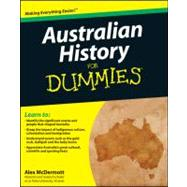 Australian History for Dummies by McDermott, Alex, 9781742169996