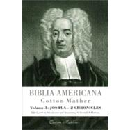 Biblia Americana/ American Bible by Mather, Cotton; Minkema, Kenneth P., 9780801039997